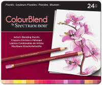 Spectrum Noir Colourblend Pencils - Florals (Tin of 24)
