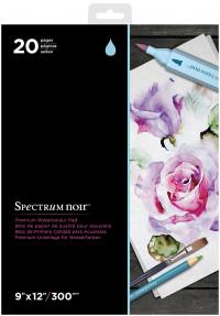 Spectrum Noir Premium Watercolour Paper Pad - 9 x 12