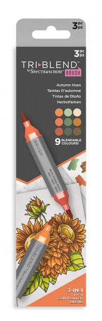 Spectrum Noir TriBrush Markers - Autumn Hues (Pack Of 3)