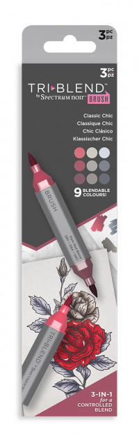 Spectrum Noir TriBlend Markers - Classic Chic (Pack Of 3)