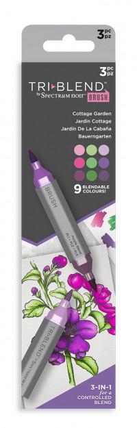 Spectrum Noir TriBlend Markers - Cottage Garden (Pack Of 3)