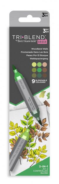 Spectrum Noir TriBlend Markers - Woodland Walk (Pack Of 3)