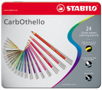 Stabilo Carbothello Colouring Pencils - Assorted Colours (Tin of 24)