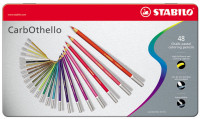 Stabilo Carbothello Colouring Pencils - Assorted Colours (Tin of 48)
