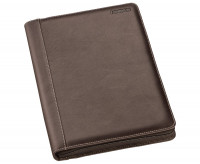 Staedtler Premium Leather Conference Folder - A4 Brown