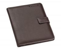 Staedtler Premium Leather Conference Folder - A5 Brown