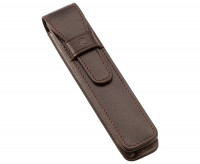 Staedtler Premium Single Leather Pen Pouch - Brown