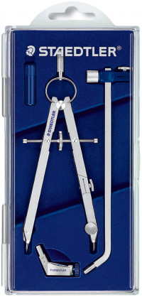 Staedtler Mars Comfort - Precision Compass with Universal Adaptor and Extension Bar