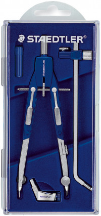 Staedtler Mars Comfort - Quick Setting Compass with Universal Adaptor and Extension Bar