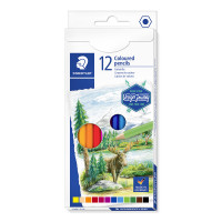 Staedtler Design Journey Colouring Pencils - Assorted Colours (Pack of 12)