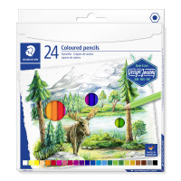 Staedtler Design Journey Colouring Pencils - Assorted Colours (Pack of 24)