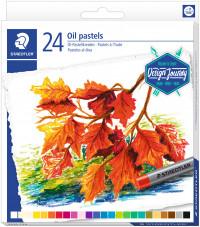 Staedtler Karat Oil Pastels - Assorted Colours (Tin of 24)