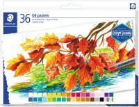 Staedtler Karat Oil Pastels - Assorted Colours (Tin of 36)