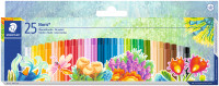 Staedtler Noris Club Oil Pastel Crayons - Assorted Colours (Pack of 25)