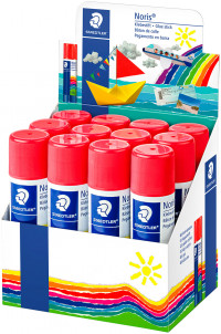 Staedtler Noris Club Glue Stick - 40g (Display Pack of 12)