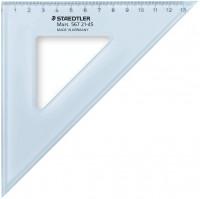 Staedtler Mars Set Square - 20cm 45°/45°