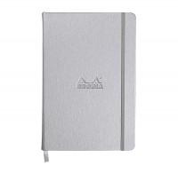 Rhodia Webnotebook- Medium Silver - Dotted