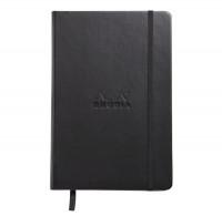 Rhodia Webnotebook- Medium Black - Dotted