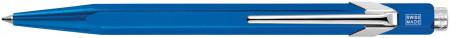 Caran d'Ache 849 Ballpoint Pen - Metal-X Blue
