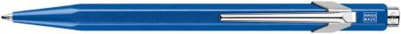 Caran d'Ache 849 Ballpoint Pen - Metal-X Blue (Gift Boxed)