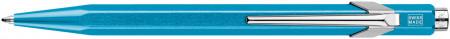 Caran d'Ache 849 Ballpoint Pen - Metal-X Turquoise (Gift Boxed)