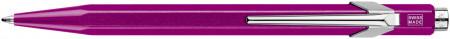 Caran d'Ache 849 Ballpoint Pen - Metal-X Violet (Gift Boxed)