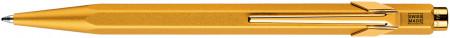 Caran d'Ache 849 Ballpoint Pen - Gold Bar (Gift Boxed)