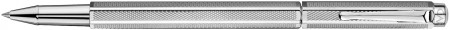 Caran d'Ache Ecridor Rollerball Pen - 'Retro' Silver Plated