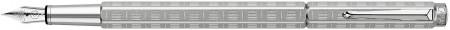 Caran d'Ache Ecridor Fountain Pen - 'Variation' Palladium Coated