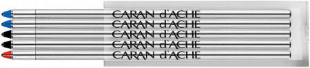 Caran d'Ache Multipen Refill - Assorted Colours (Pack of 5)