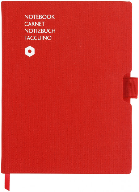 Caran d'Ache Office Notebook - A5 Canvas - Red