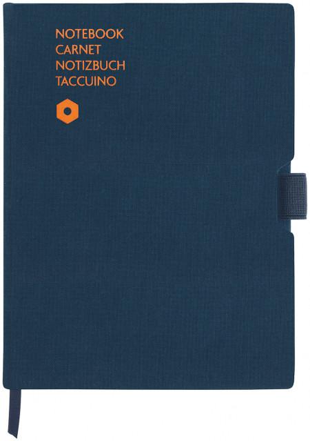 Caran d'Ache Office Notebook - A5 Canvas - Blue