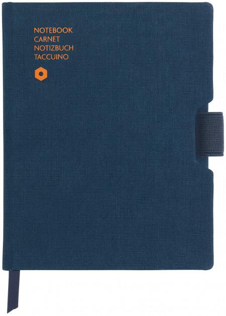 Caran d'Ache Office Notebook - A6 Canvas - Blue