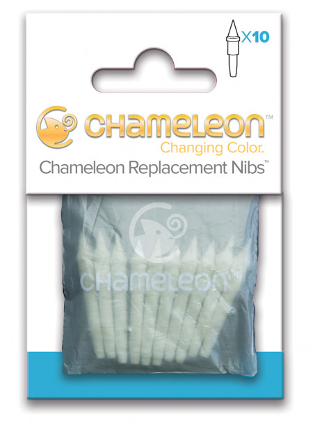 Chameleon Replacement Nibs - Brush Tip (Pack of 10)