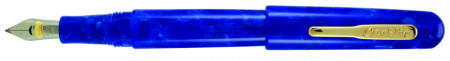 Conklin All American Fountain Pen - Lapis Blue Gold Trim