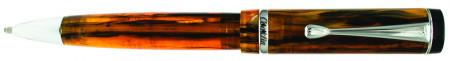 Conklin Duragraph Ballpoint Pen - Amber Chrome Trim