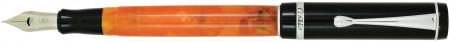 Conklin Duragraph Fountain Pen - Orange Nights