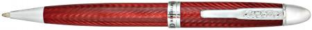 Conklin Herringbone Ballpoint Pen - Burgundy