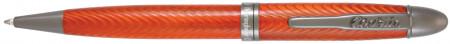 Conklin Herringbone Ballpoint Pen - Orange
