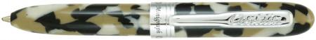 Conklin Minigraph Ballpoint Pen - White Satin