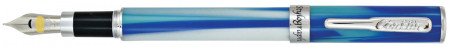 Conklin Stylograph Fountain Pen - Matte Arctic Blue