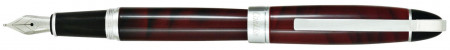 Conklin Victory Fountain Pen - Ruby Red
