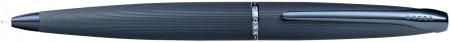 Cross ATX Ballpoint Pen - Sandblasted Dark Blue
