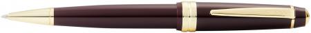 Cross Bailey Light Ballpoint Pen - Burgundy Resin with Gold Plated Trim