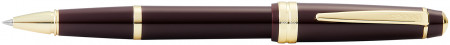 Cross Bailey Light Rollerball Pen - Burgundy Resin with Gold Plated Trim