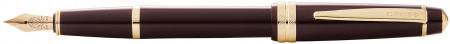 Cross Bailey Light Fountain Pen - Burgundy Resin with Gold Plated Trim