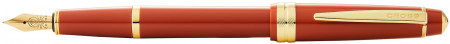 Cross Bailey Light Fountain Pen - Amber Resin with Gold Plated Trim