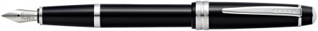 Cross Bailey Light Fountain Pen - Black Chrome Trim