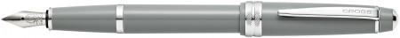 Cross Bailey Light Fountain Pen - Grey Chrome Trim