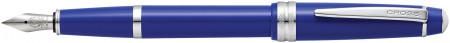 Cross Bailey Light Fountain Pen - Blue Chrome Trim